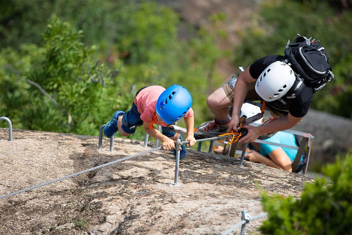 Klettersteig Unterstell : Klettersteige knott klettersteig in unterstell oberhalb naturns