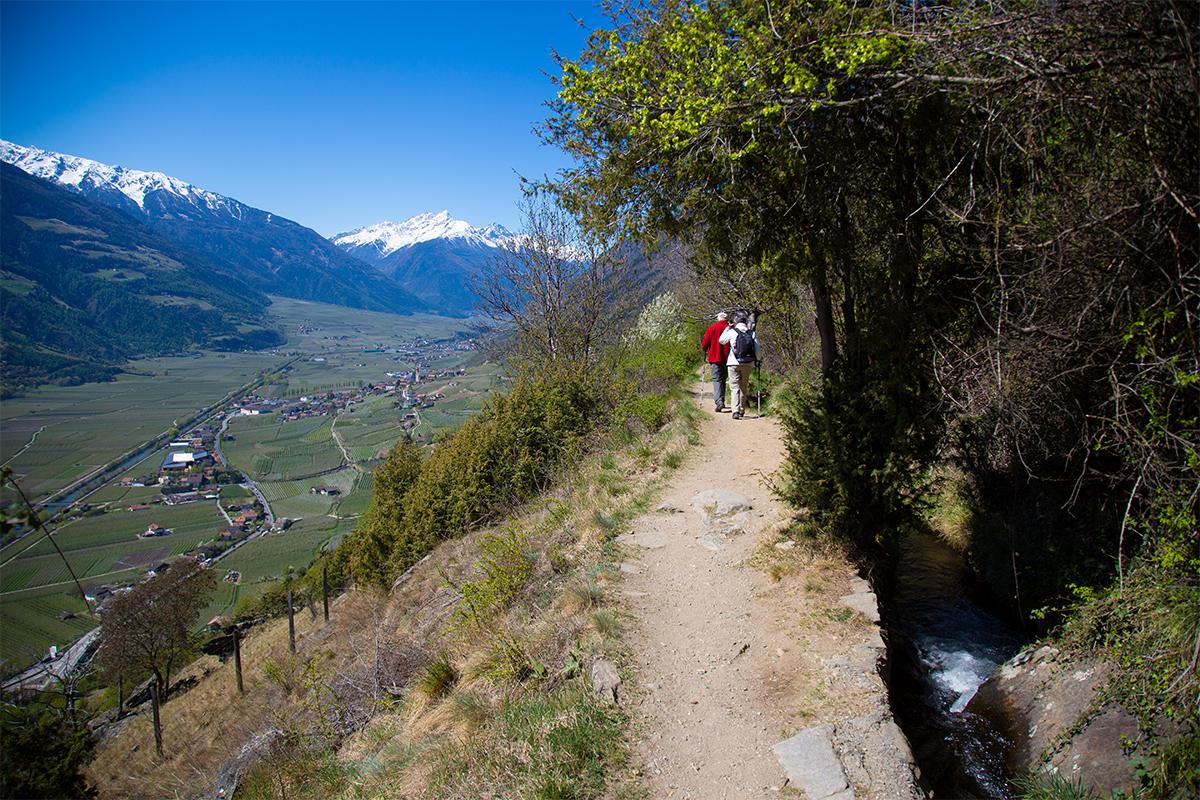 Klettersteig Unterstell : Klettersteig u choachwoolu d bei juval