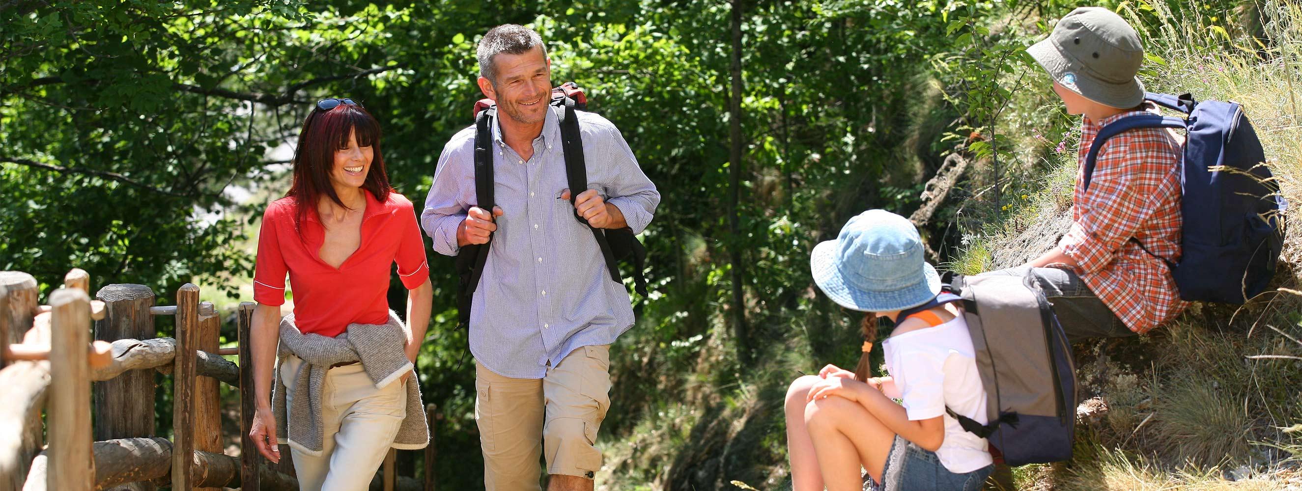 Escursione - Acquavventura - Escursionismo e ciclismo